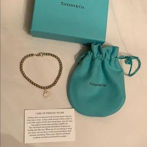 NWT Tiffany Return to Tiffany Mini Heart Bracelet